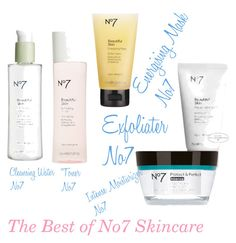 """""""The Best of No7 Skincare"""" by maeaballroomprincess ❤ liked on Polyvore featuring beauty and Boots No7"""