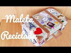 Maleta Reciclada (Manualidad 127) - YouTube