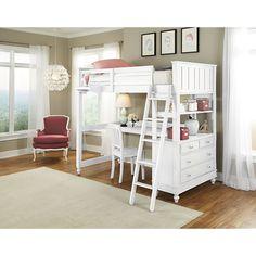 NE Kids Lake House Loft W/ Desk
