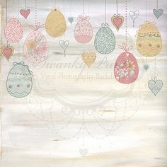 Vintage Easter Wall - Oz Backdrops and Props
