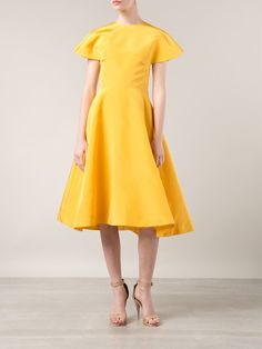 Rosie Assoulin Flared Dress - Forty Five Ten - Farfetch.com