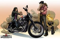 Motorcycle License by PsychoSlaughterman on DeviantArt