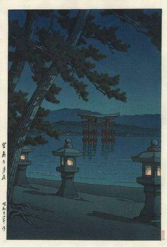 Les apaisantes estampes traditionnelles de Hasui Kawase
