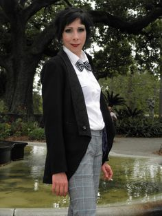 My lovely friend and fellow Krewe Du Who member @Áine Ní Branch as the Femme Second Doctor | via Fem!Doctor