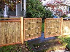3 Vivacious Tips: Cheap Fence Fun pallet fence front yard.Rustic Fence Painting how to build a garden fencing. Brick Fence, Front Yard Fence, Pallet Fence, Fenced In Yard, Gabion Fence, Cedar Fence, Wire Fence, Fence Landscaping, Backyard Fences