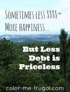 Debt Archives - Color Me Frugal Mo Money, Money Tips, Money Saving Tips, Living On A Budget, Frugal Living Tips, Ways To Save Money, How To Make Money, Raining Money, Work Motivation