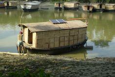 โรงเรียนลอยน้ำในบังคลาเทศ ขับเคลื่อนด้วยพลังงานแสงอาทิตย์