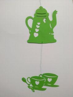 Kaffeekanne mit zwei Tassen