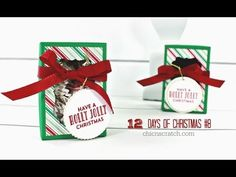 Stampin' Pretty Tutorial: How to Create a Label Thinlits Die Twins Card - YouTube