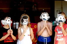 #Diary of a wimpy kid photo props from Keeping My Cents ¢¢¢
