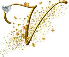 View all images at Alfabeto dourado folder M Letter Design, Monogram Design, Lettering Design, Alphabet Wallpaper, Name Wallpaper, Monogram Alphabet, Alphabet And Numbers, Alphabet Fonts, V Letter Tattoo