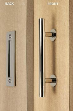 STRONGAR HARDWARE - Pull and Flush Door Handle Set  (Polished Finish), $140.00 (http://www.strongarhardware.com/pull-and-flush-door-handle-set-polished-finish/)