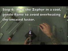 Reducing and Encasing Double Helix reducing silver glass - a great little video!