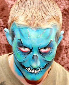Face Fiesta Blog: Finally... 2010 Halloween Face Painting Photos!!
