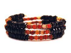 Nightflame  Coil Bracelet from Lumibon