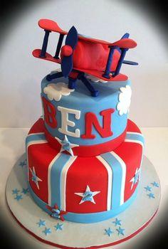 Airplane cake - by Skmaestas @ CakesDecor.com - cake decorating website