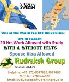 Study Visa in Sweden