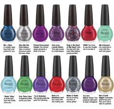 Justin Bieber nail polish line. You guys can get me these for Christmas.