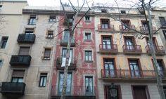 Façades always surprise me...in Barcelona