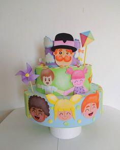 Pegue um pedacinho de Tudo que é mais bonito no Mundo Bita e faça um bolo primoroso. #bita #mundobita