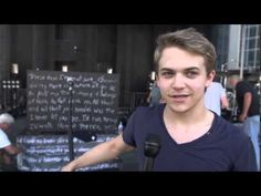 Hunter Hayes Interview Music Awards
