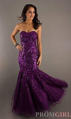 Best Purple Prom Dresses Fashion