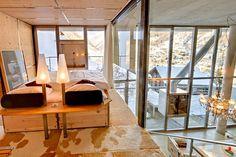 Heinz Julen Loft Offers Lavish Comforts Amidst Majestic Swiss Alps