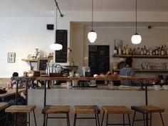 Luncheonette in Hamburg, Hamburg Cafe Restaurant, Cafe Bistro, Cafe Shop, Coffee Shops, Hotels, Pizza, Public, Lunch, Inspiration