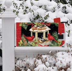 Christmas Dinner MailWraps Magnetic Mailbox Cover