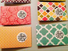 Enveloppes de Eidi argent argent Eid enveloppes. Lot par AmysPopBox