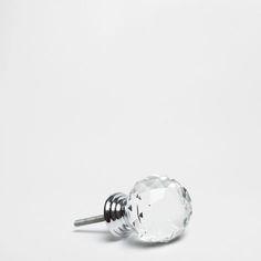 Crystal Knob (Set of 2) - Knobs - Decoration | Zara Home Hungary