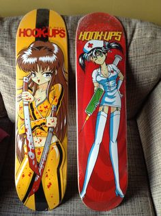Hook Ups decks from my collection