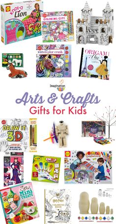 Creative Art and Craft Gifts for Kids  sc 1 st  Pinterest & 214 Best Gifts for Kids images in 2019 | Christmas gifts for kids ...
