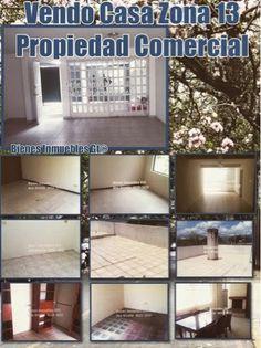 GUATEMALA REAL ESTATE * Bienes Inmuebles Guatemala: Vendo Casa Zona 13 Guatemala