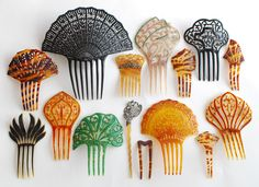 Silver Quill Antiques and Gifts - Antique Hair Combs and Hair Ornaments