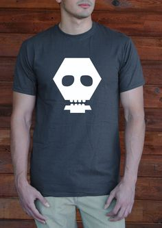 Funky Skull!! Throw this shirt on and walk out the door looking awesome. Try it on and it will soon become your favorite tee.