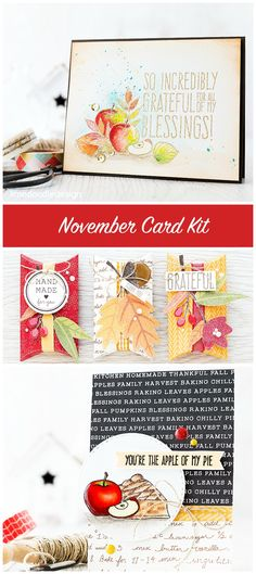 Projects from the November Card Kit from Simon Says Stamp http://limedoodledesign.com/2015/10/layering-patterned-papers-2/