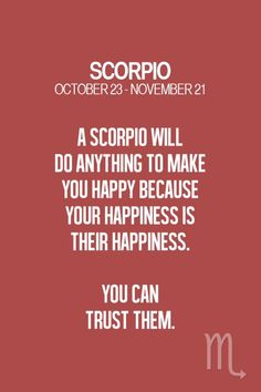 Absolutely, trust a Scorpio, they have your back! ZodiacSpot - Your all-in-one source for Astrology Scorpio And Libra, Astrology Scorpio, Scorpio Traits, Scorpio Zodiac Facts, Zodiac Signs Scorpio, Scorpio Quotes, Scorpio Woman, Zodiac Horoscope, Zodiac Quotes