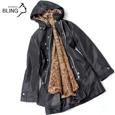 Buy from china:Fashion Ladies Long Coat Polyester Velvet Blet Faux Fur Long Women Coat Winter Coat Warm Jacket