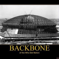 Superdome- staple of New Orleans Saints Game a39fb873f