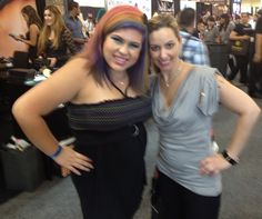 I love her hair so much!!  How awesome! #iMATS #LA