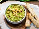 Bärlauch-Hummus Rezept Healthy Afternoon Snacks, Yummy Snacks, Healthy Snacks, Yummy Food, Spring Recipes, Eat Smarter, My Favorite Food, Cravings, Vegan Recipes