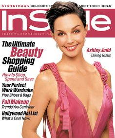 InStyle Magazine Covers: 2003 - October, Ashley Judd from #InStyle