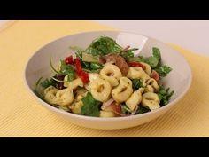 Tortellini Pasta Salad Recipe - Laura Vitale - Laura in the Kitchen Episode 448