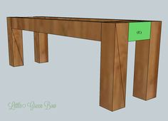 diy dining table bench plans | our home: kitchen & pantry