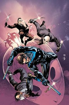 Dick Grayson and his new mentor embark on their first mission for the Parliament of Owls! #NIGHTWING #2, on sale 8/3! #DickGrayson