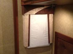 RVs lose a lot of heat through their windows in the winter...Here's an easy way to insulate them. Just find a pillowcase that matches the decor, cut a piece of Reflectix the size of the window, and put the Reflectix and a pillow inside the pillow case. I cut a piece of cardboard to size so it would hold the pillow firm against the window. Details with pics at this link.