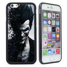 Batman Joker Silicone Case Cover For iPhone  4 4s 5 5s SE 5C 6 6S Plus iPhone 7…
