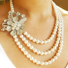 Wedding Jewelry in Vintage Style for Brides | NationTrendz.Com