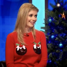 Rachel Annabelle Riley Christmas Jumpers, Christmas Sweaters, Rachel Riley Bikini, Rachel Riley Countdown, Racheal Riley, Math Genius, Beautiful Evening Gowns, Tv Presenters, Elizabeth Olsen